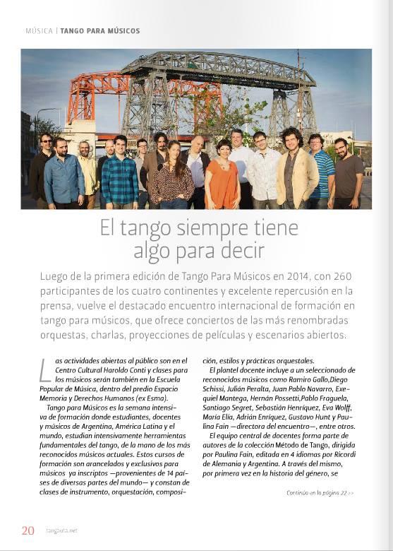 TPM Febrero El Tangauta revista hoja 1